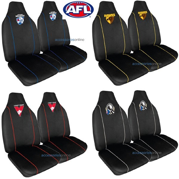 AFL car SEAT COVERS