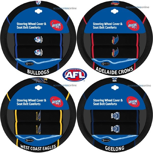 AFL car STEERING WHEEL COVERS