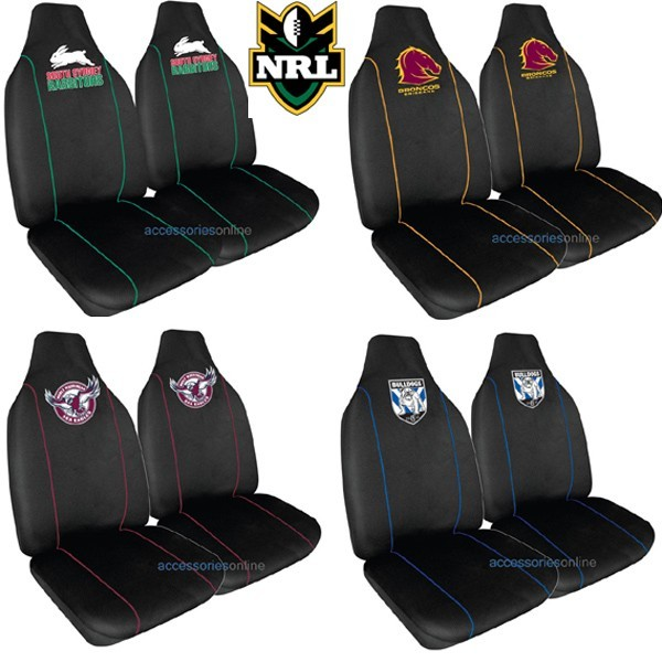 NRL car SEAT COVERS