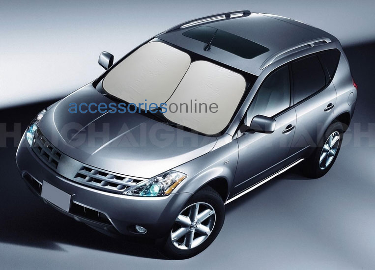 CAR SUN SHADE Front Window Windscreen Reflector LARGER SIZE