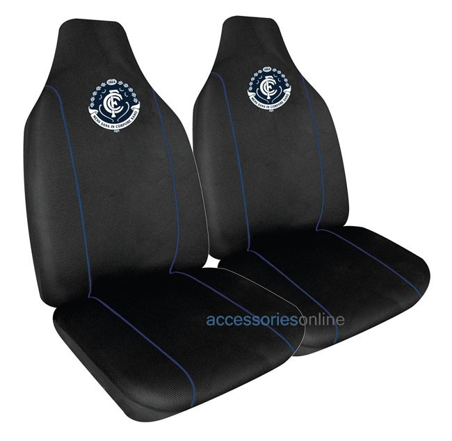 Afl Car Seat Covers Carlton