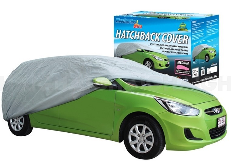 WeatherTec Ultra. Water Resistant car covers to suit HATCHBACKS