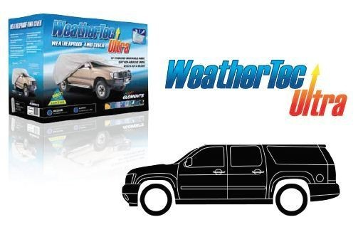 WeatherTec Ultra. Water Resistant car covers to suit DUAL CABS WITH CANOPIES