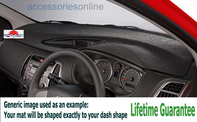 SHEVRON Dash Mats to suit your MITSUBISHI model. Custom Made Carpet Dash Mats DASHMATE
