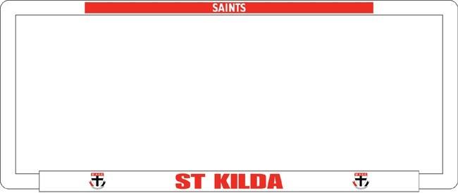 AFL ST KILDA SAINTS number plate frame