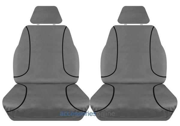 TRADIES Ford Ranger PX Single Cab DX/XL 2012 onwards Canvas Seat Covers