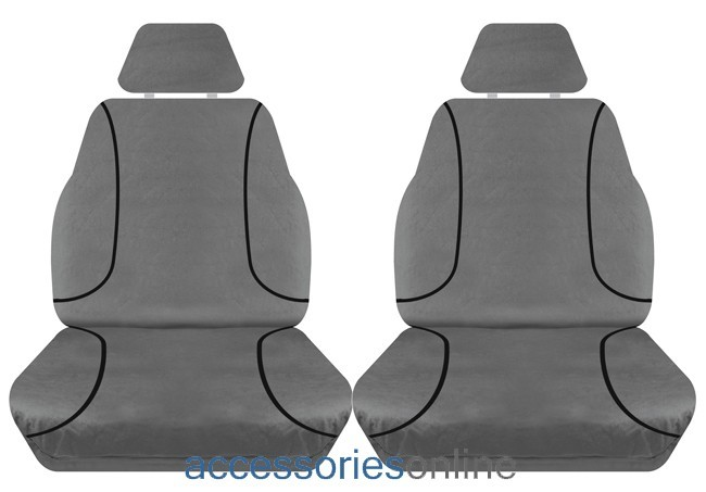 TRADIES Mazda BT50 XT Series Single Cab 2012 - Onwards Canvas Seat Covers