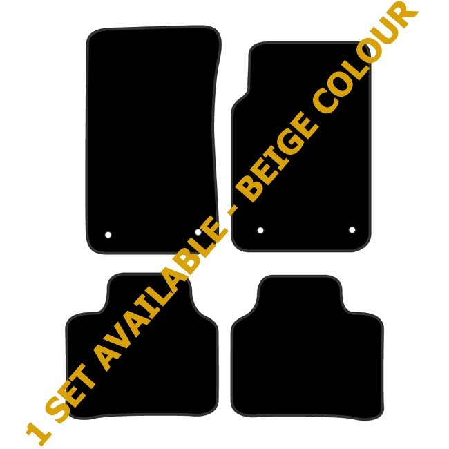 HOLDEN COMMODORE [VE] 2006 to 2013 (BEIGE COLOUR) PREMIER TAILORED FLOOR MATS