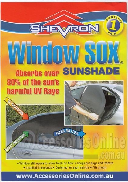 NISSAN WINDOW SOX ® CAR WINDOW SUN SHADES