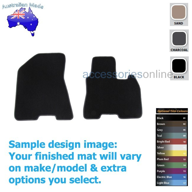 KIA SPORTAGE [QL] 10/2015 onwards FRONT Tailored floor mats
