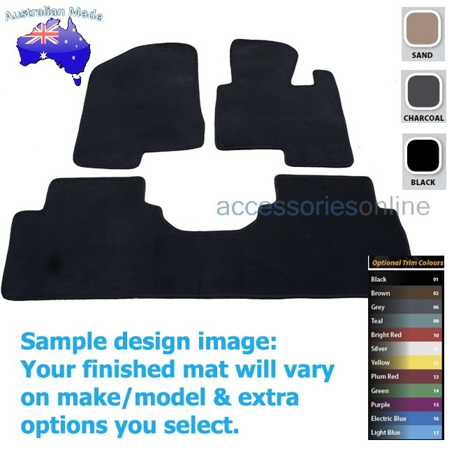 KIA SPORTAGE [SL series 2] 6/2013 to 10/2015 FRONT & REAR Tailored floor mats
