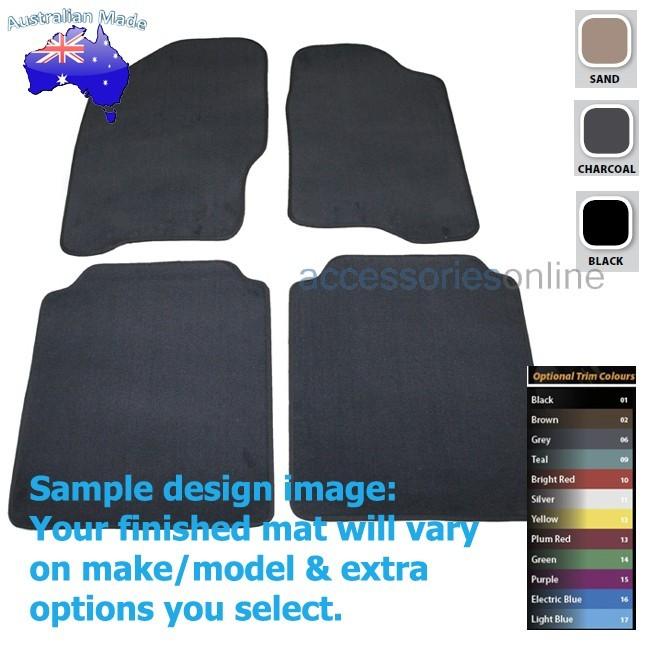 NISSAN NAVARA [D40] 5/2010 to 8/2015 FRONT & REAR Tailored floor mats