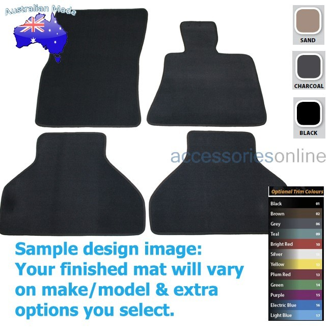BMW X5 [E70] 3/2007 to 9/2013 FRONT & REAR Tailored floor mats