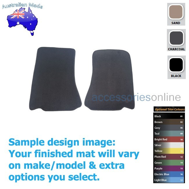 FORD TERRITORY [SZ] 3/2011 to 10/2016 FRONT Tailored floor mats