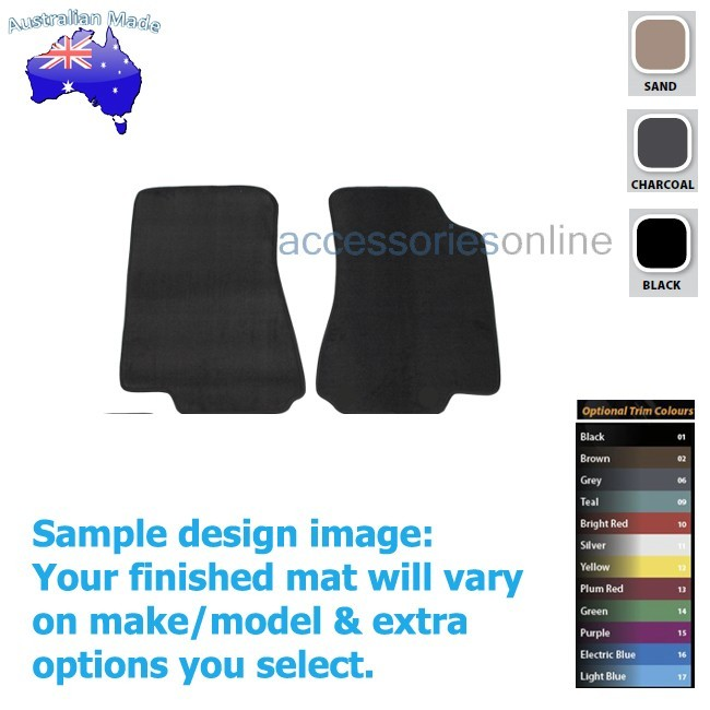 FORD FALCON [BA,BF] Mk3 XT WAGON 4/2008 to 5/2010 FRONT Tailored floor mats