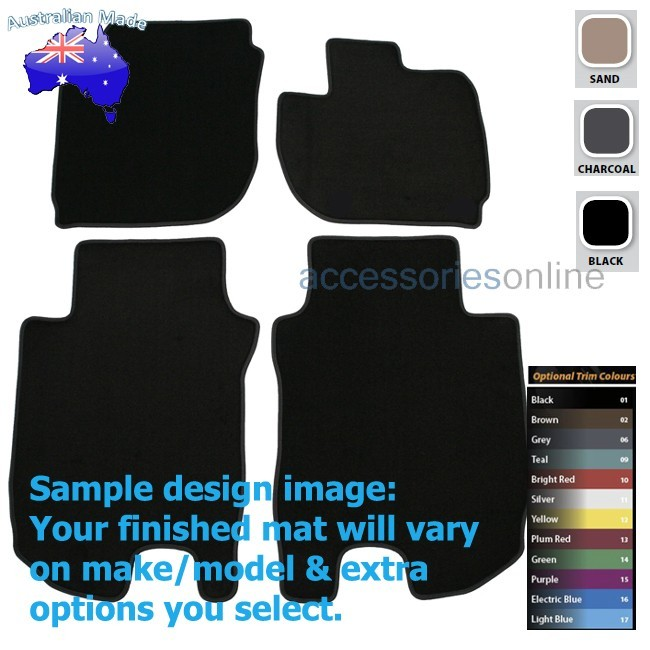 HONDA HRV 1/2015 onwards FRONT & REAR Tailored floor mats