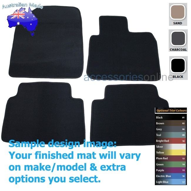 HYUNDAI SANTA FE [DM] 8/2012 onwards FRONT & REAR Tailored floor mats
