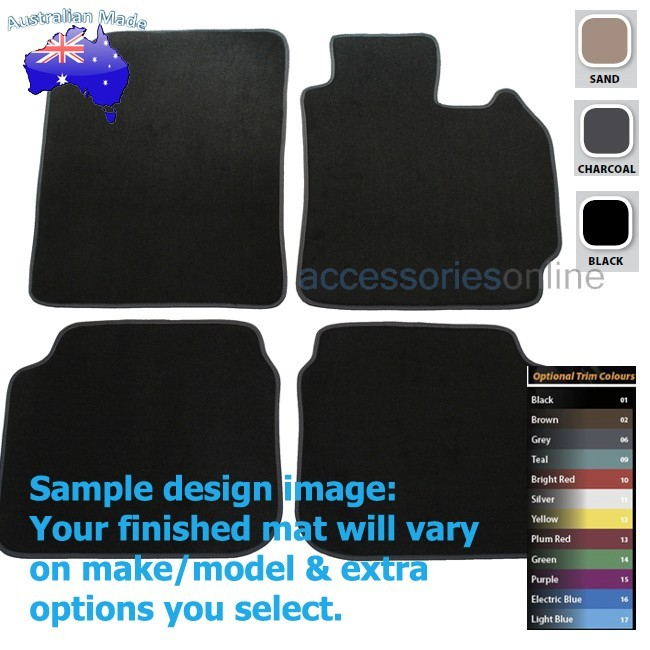 HYUNDAI ELANTRA [MD] 6/2011 to 6/2015 FRONT & REAR Tailored floor mats