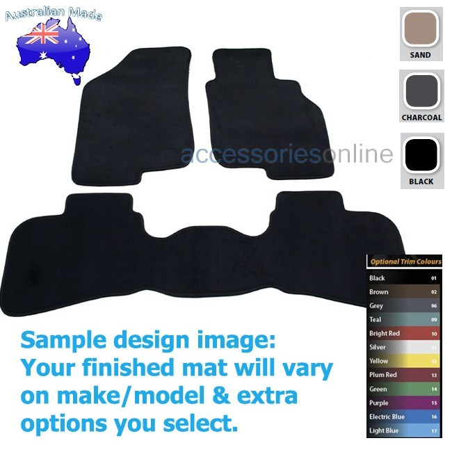 HYUNDAI i30 [FD] 9/2007 to 5/2012 FRONT & REAR Tailored floor mats