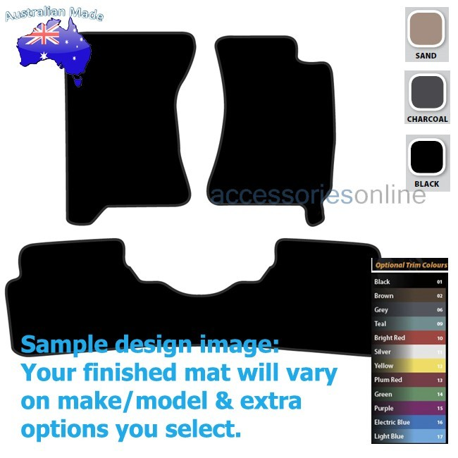 SUBARU FORESTER [SG MY07] 8/2006 to 7/2007 FRONT & REAR Tailored floor mats