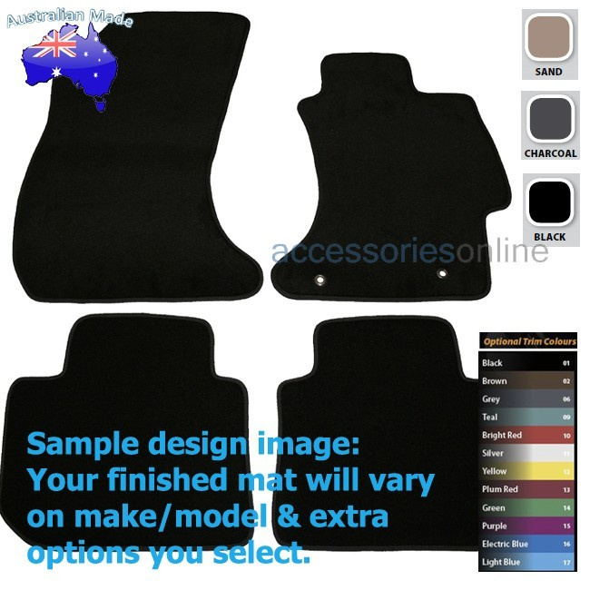 SUBARU IMPREZA [GP,GJ] 2012 to 2016 FRONT & REAR Tailored floor mats