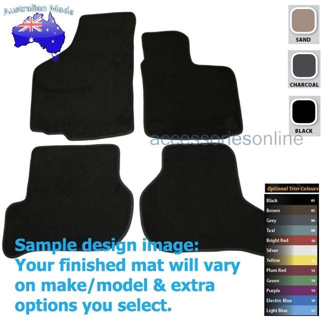 VOLKSWAGEN GOLF [Mk6] (5K) 2/2009 to 10/1012 FRONT & REAR Tailored floor mats