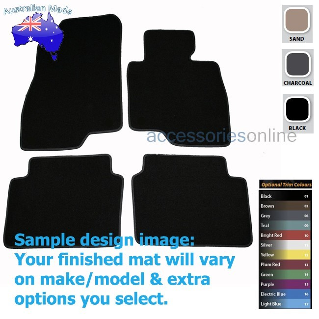 MAZDA 3 [BM] 2/2014 onwards FRONT & REAR Tailored floor mats