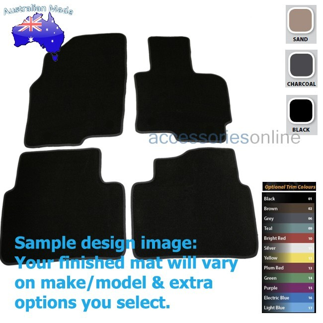 MAZDA CX5 [KE] 2/2012 to 2016 FRONT & REAR Tailored floor mats