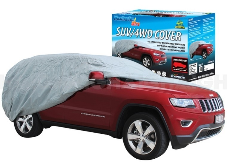 WeatherTec Ultra. Water Resistant car covers to suit 4X4 WAGON / SUV