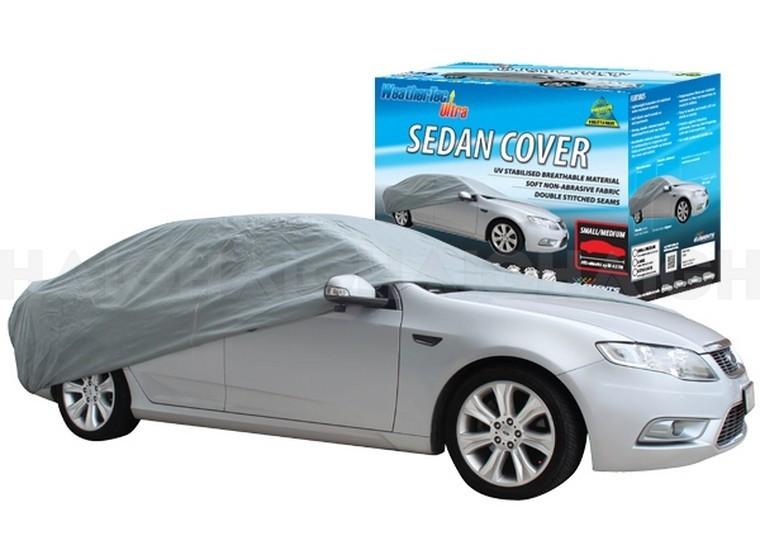 WeatherTec Ultra. Water Resistant car covers to suit SEDAN