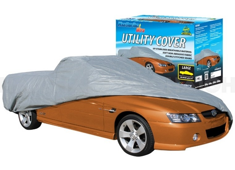 WeatherTec Ultra. Water Resistant car covers to suit UTES