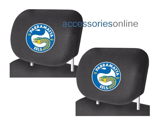 NRL PARRAMATTA EELS  car Headrest Covers