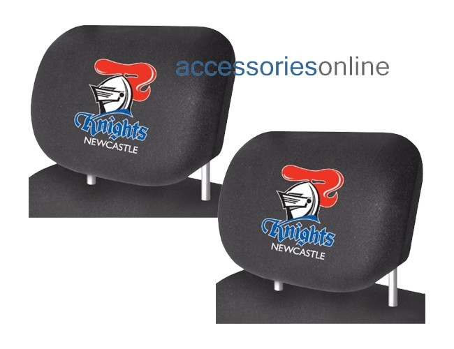 NRL NEWCASTLE KNIGHTS car Headrest Covers