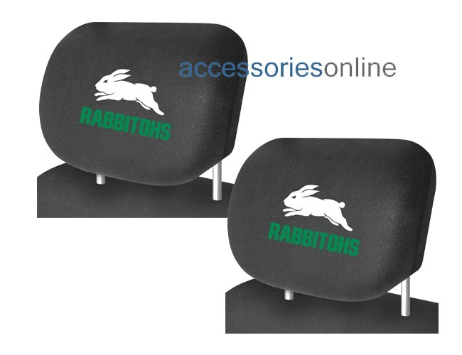 NRL SOUTH SYDNEY RABBITOHS car Headrest Covers