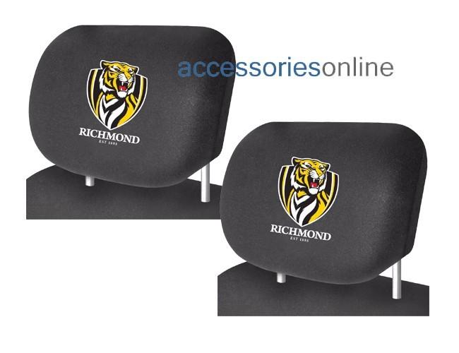 AFL RICHMOND TIGERS car Headrest Covers