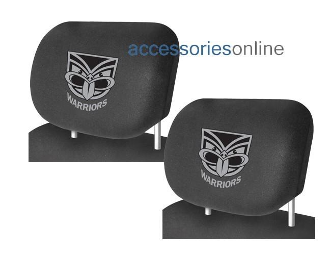 NRL NEW ZEALAND WARRIORS car Headrest Covers