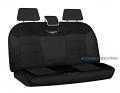 RM WILLIAMS MESH Rear car seat covers BLACK *FREE SHIPPING
