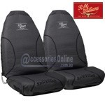 RM WILLIAMS STOCKYARD CANVAS CAR SEAT COVERS CHARCOAL