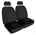 ELITE JACQUARD Front car seat covers BLACK *Free Shipping