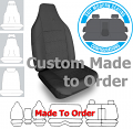 ELITE JACQUARD car seat covers GREY Size CUSTOM MADE *Free Shipping