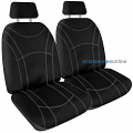 GETAWAY NEOPRENE Front car seat covers BLACK *Free Shipping