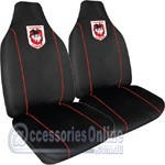 NRL ILLAWARRA DRAGONS CAR SEAT COVERS