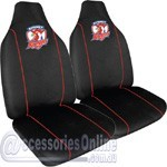 NRL SYDNEY ROOSTERS CAR SEAT COVERS *FREE SHIPPING*