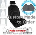 GETAWAY NEOPRENE car seat covers BLACK Size CUSTOM MADE *Free Shipping