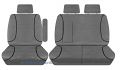 TRADIES Ford Transit 350E (SRW)/350L/470E(DRW)470E Cab Chassis 2015 - Onwards  Canvas Seat Covers