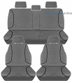 TRADIES Full Canvas Holden Colorado RG Dual Cab LS/LTZ/Z71 9/2014 onwards Seat Covers