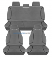 TRADIES Full Canvas VW Amarok [2H] (all models except 'ultimate')  2/2011 onwards seat covers