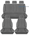 TRADIES Full Canvas Mazda BT50 [UR] Dual Cab XTR/GT 9/2015 to 7/2020 Seat Covers