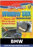 BMW WINDOW SOX ® CAR WINDOW SUN SHADES