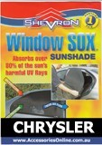CHRYSLER WINDOW SOX ® CAR WINDOW SUN SHADES
